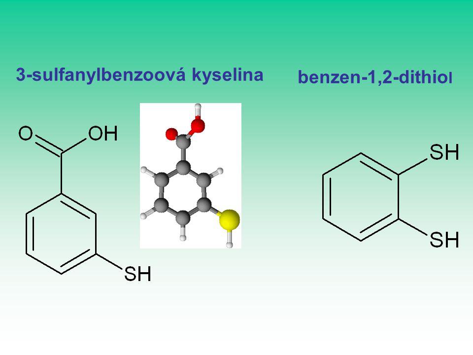 3-sulfanylbenzoová kyselina