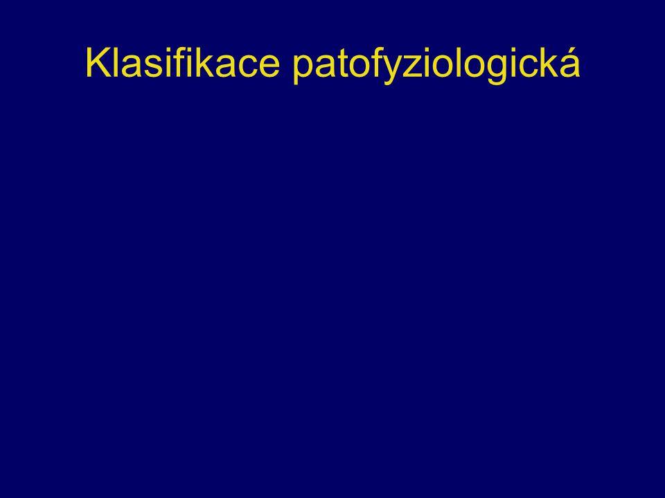 Klasifikace patofyziologická