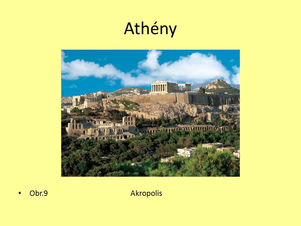 Athény Obr.9 Akropolis