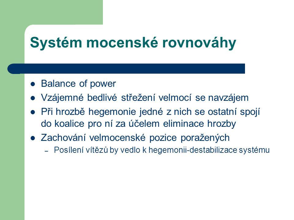 Systém mocenské rovnováhy