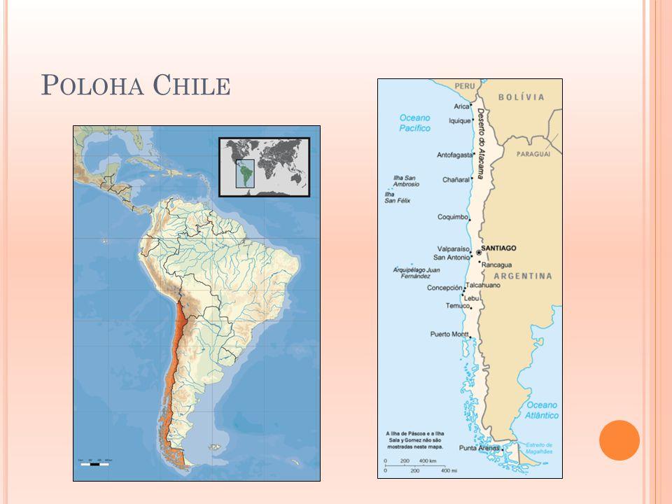 Poloha Chile