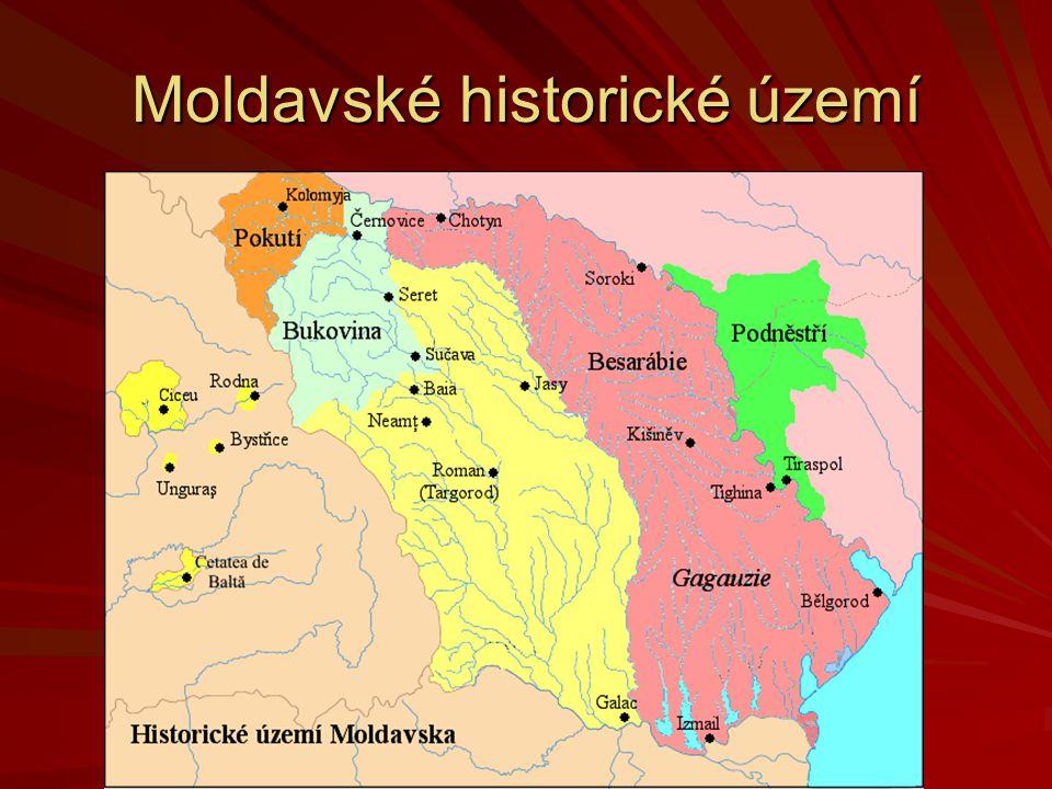 Moldavské historické území