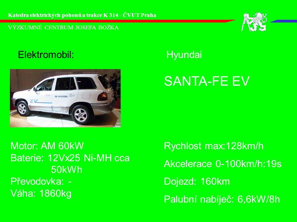SANTA-FE EV Elektromobil: Hyundai Motor: AM 60kW