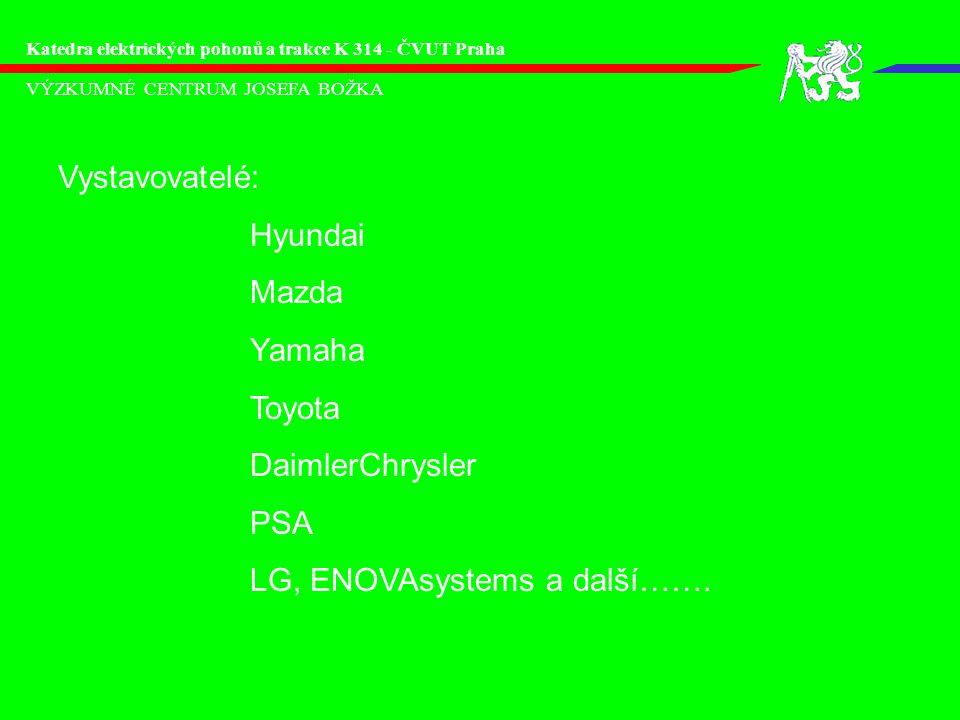 LG, ENOVAsystems a další…….