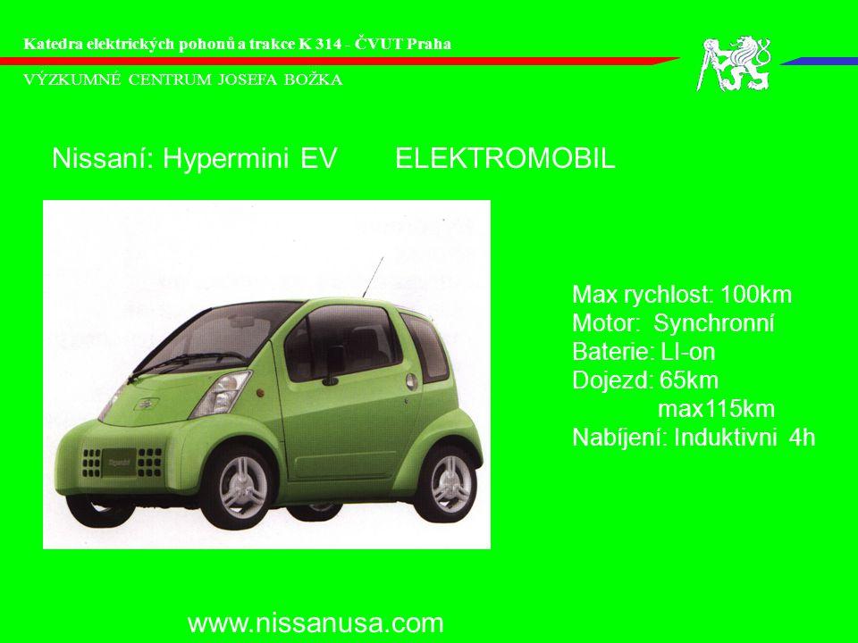 Nissaní: Hypermini EV ELEKTROMOBIL