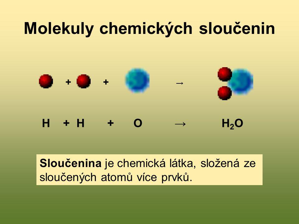 Molekuly chemických sloučenin