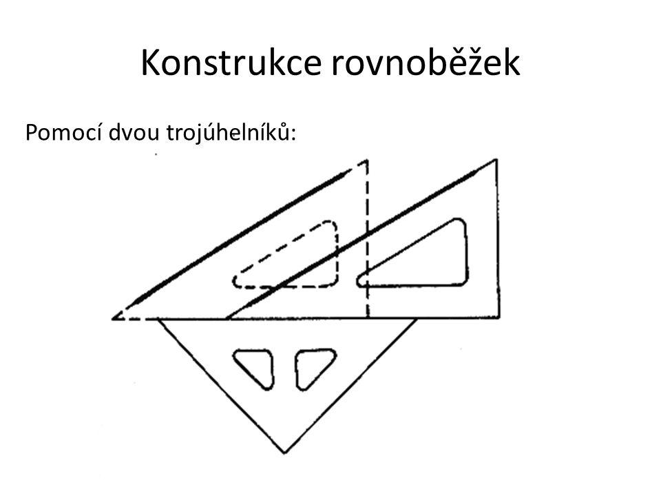 Konstrukce rovnoběžek