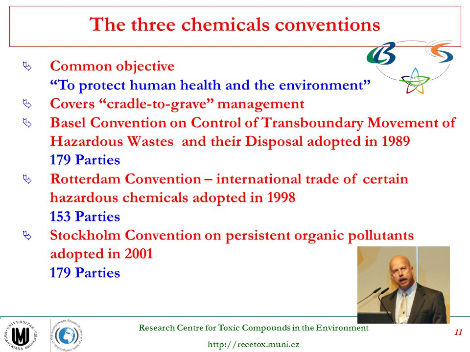 The three chemicals conventions