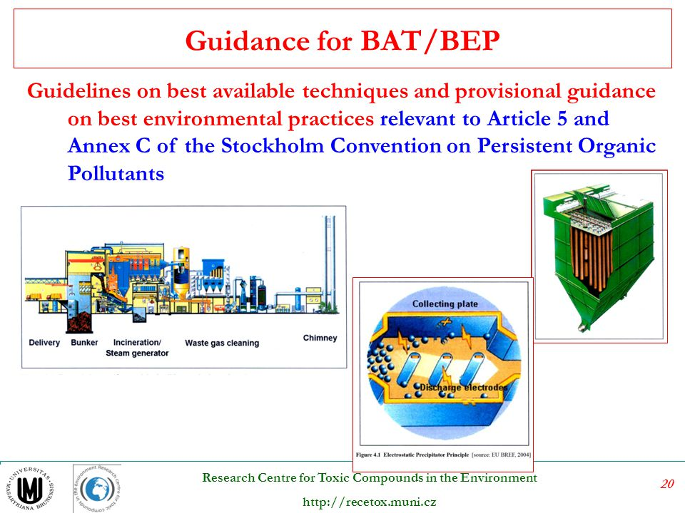 Guidance for BAT/BEP