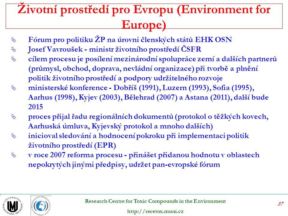 Životní prostředí pro Evropu (Environment for Europe)