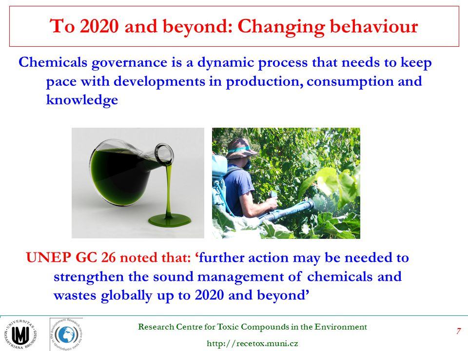 To 2020 and beyond: Changing behaviour