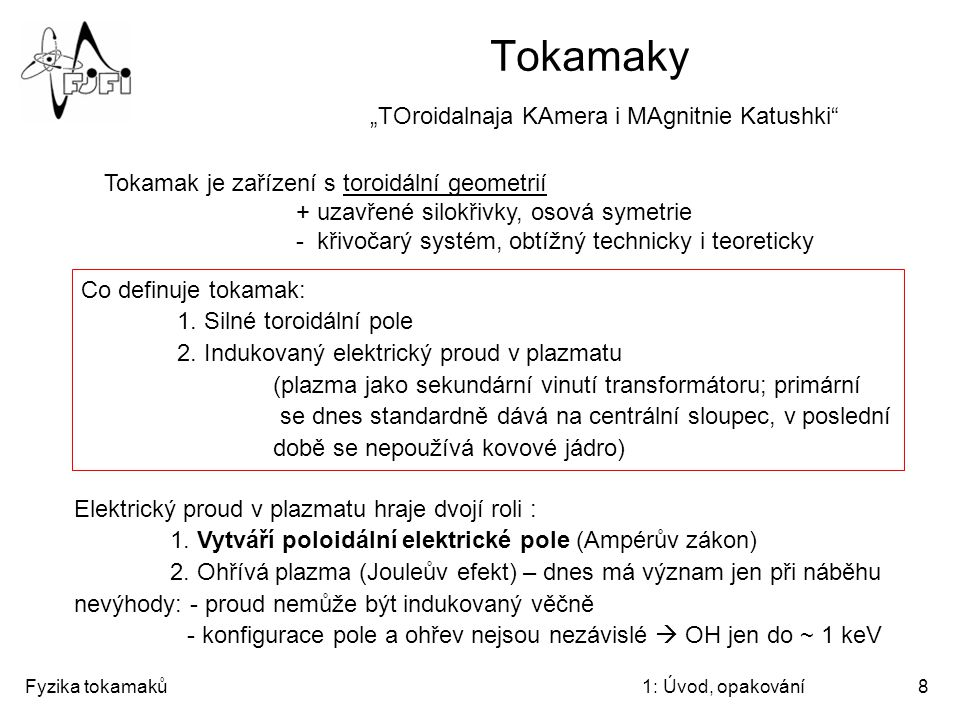 "Tokamaky ""TOroidalnaja KAmera i MAgnitnie Katushki"