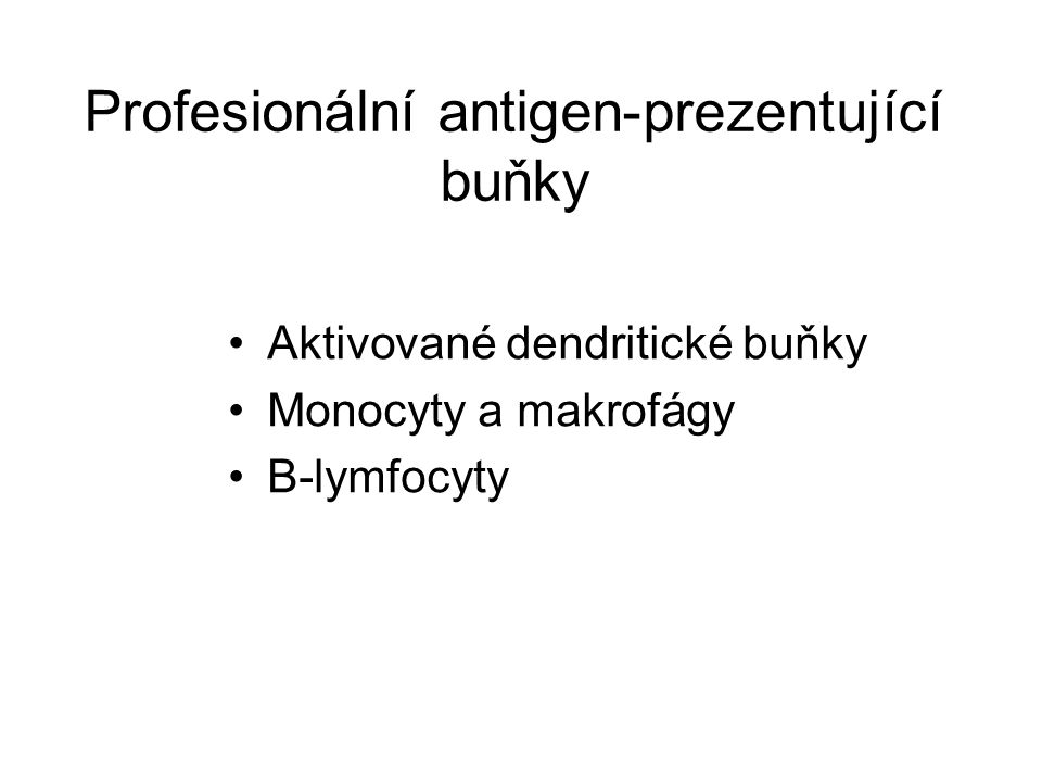 Profesionální antigen-prezentující buňky