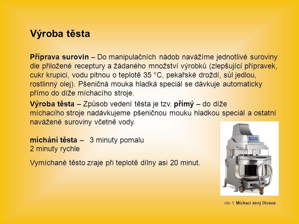 obr.1: Míchací stroj Diosna