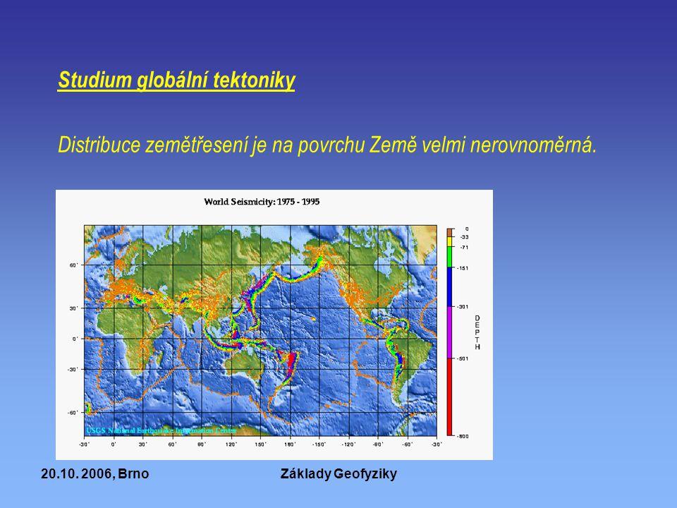 Studium globální tektoniky