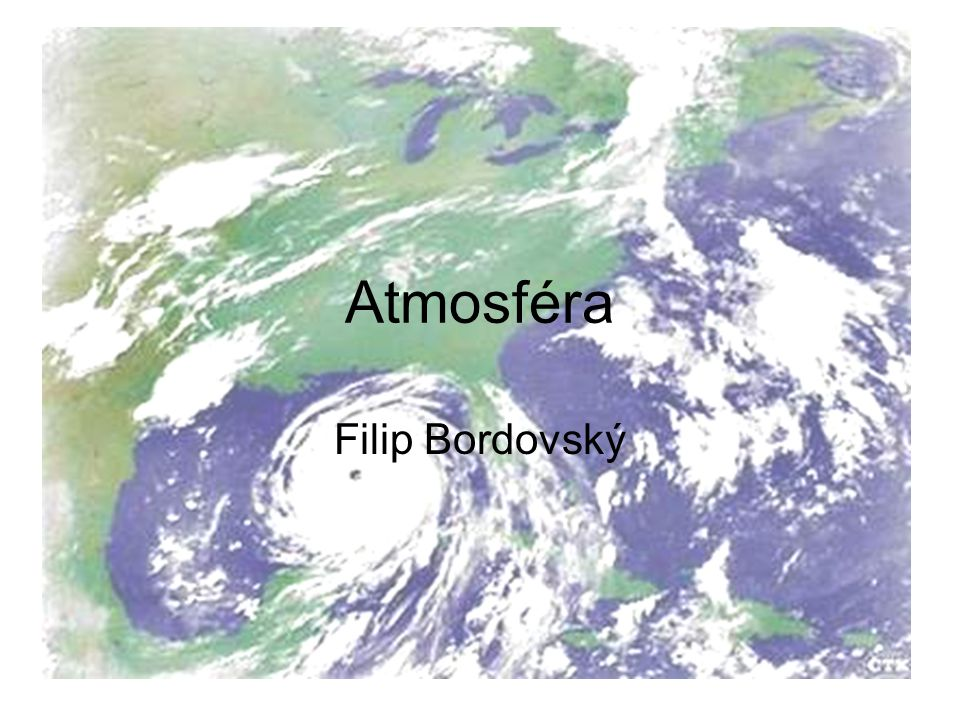 Atmosféra Filip Bordovský
