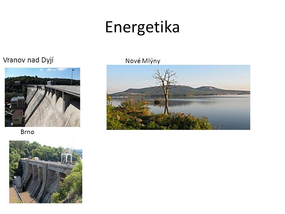 Energetika Vranov nad Dyjí Nové Mlýny Brno
