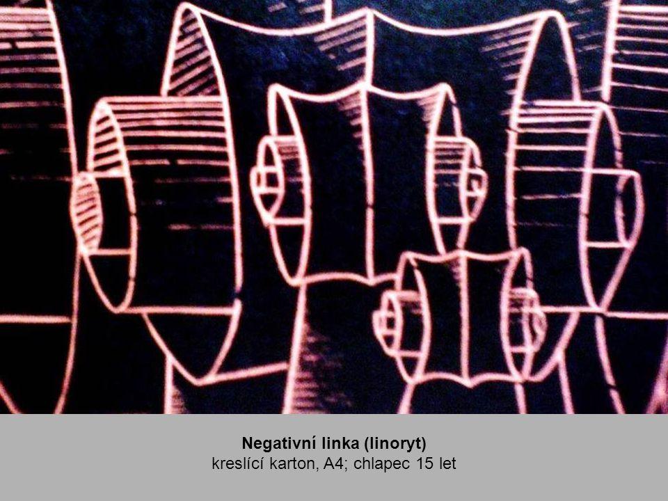 Negativní linka (linoryt)