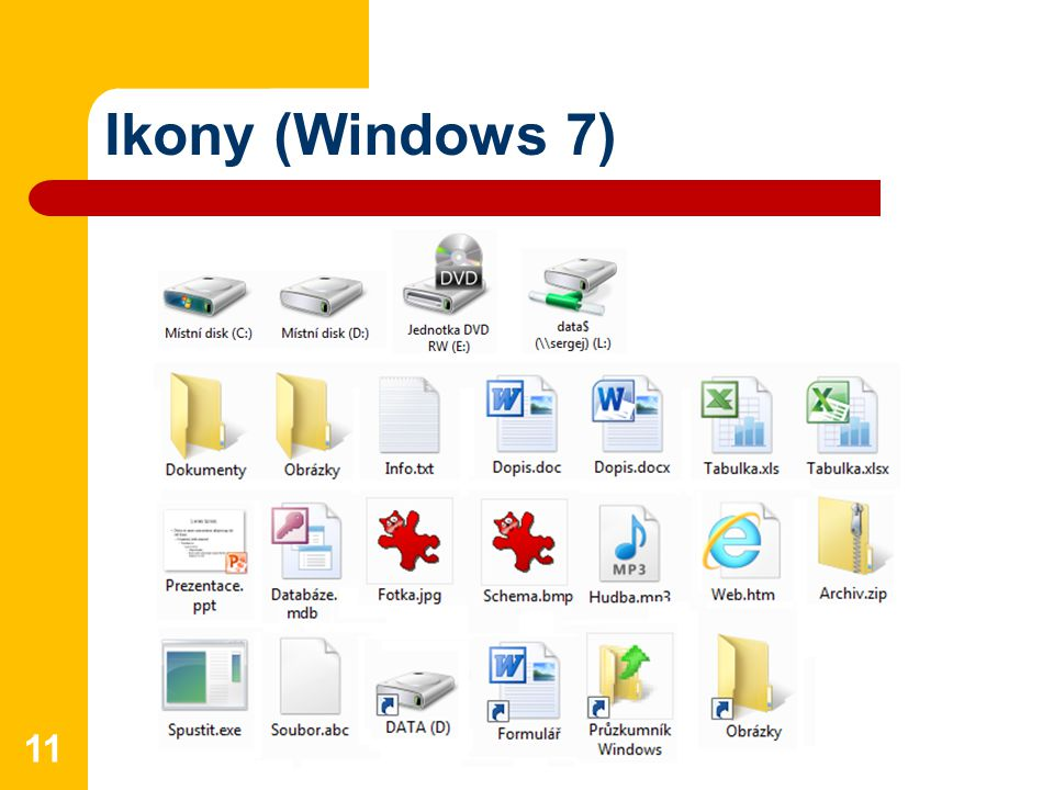 Ikony (Windows 7)