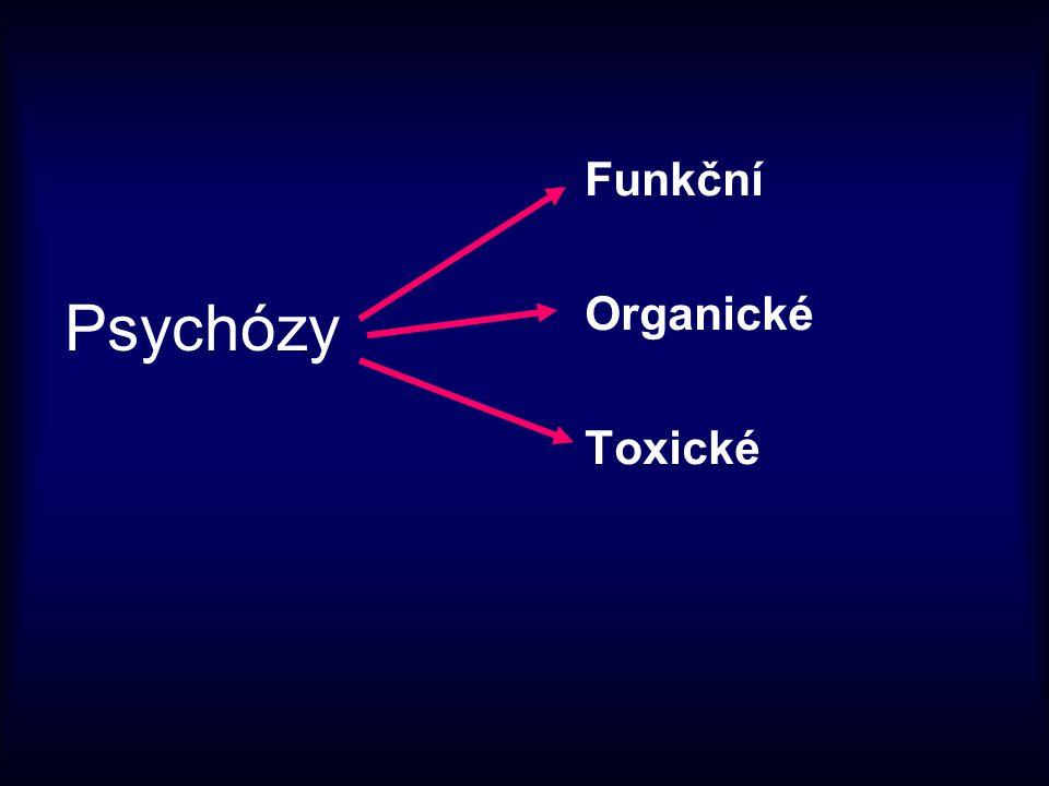 Funkční Organické Toxické Psychózy