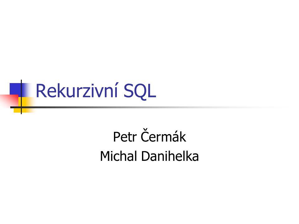 Petr Čermák Michal Danihelka