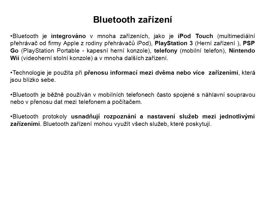 Bluetooth zařízení
