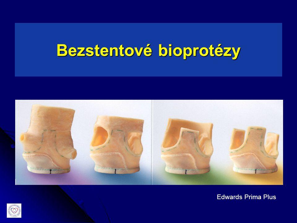Bezstentové bioprotézy