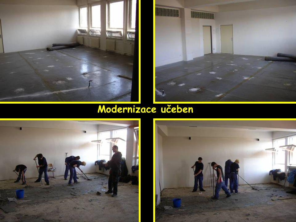 Modernizace učeben