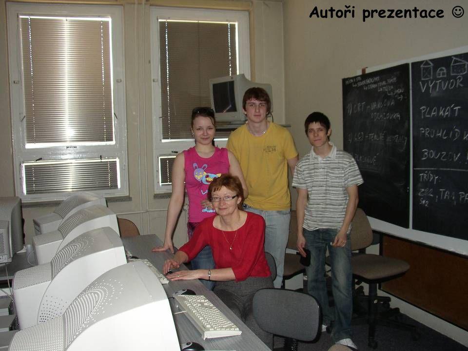 Autoři prezentace  Tvůrci prezentace 
