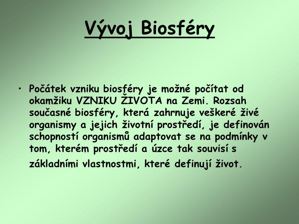 Vývoj Biosféry
