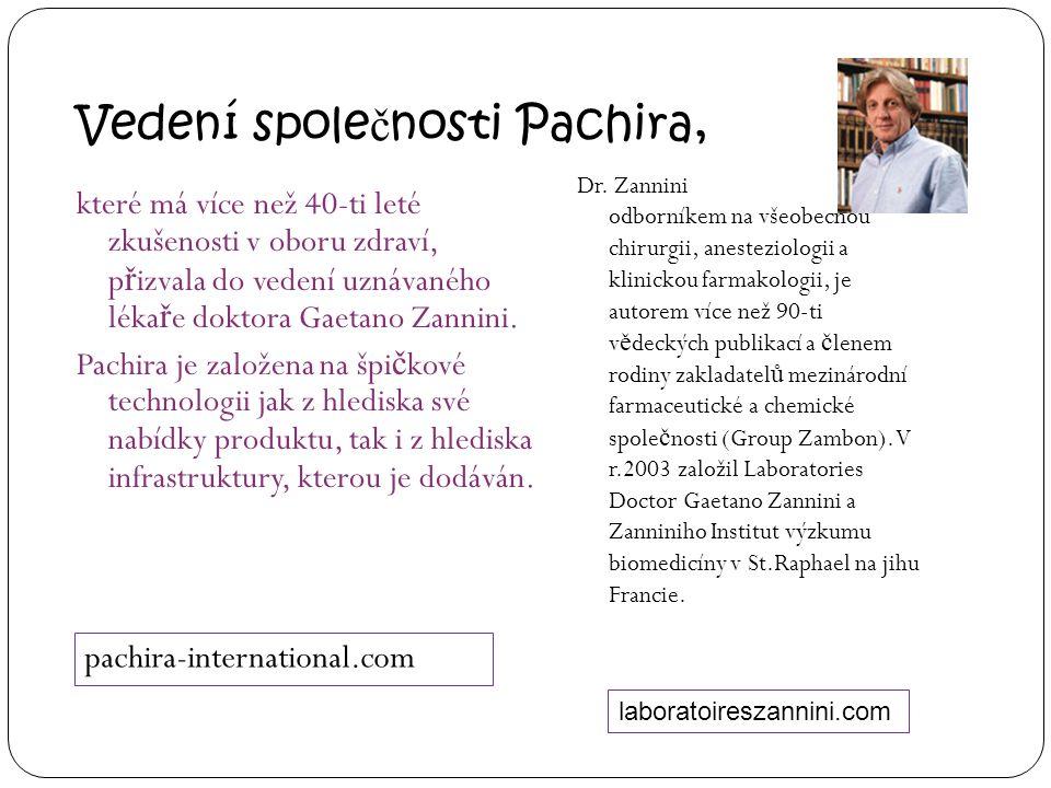 Vedení společnosti Pachira,