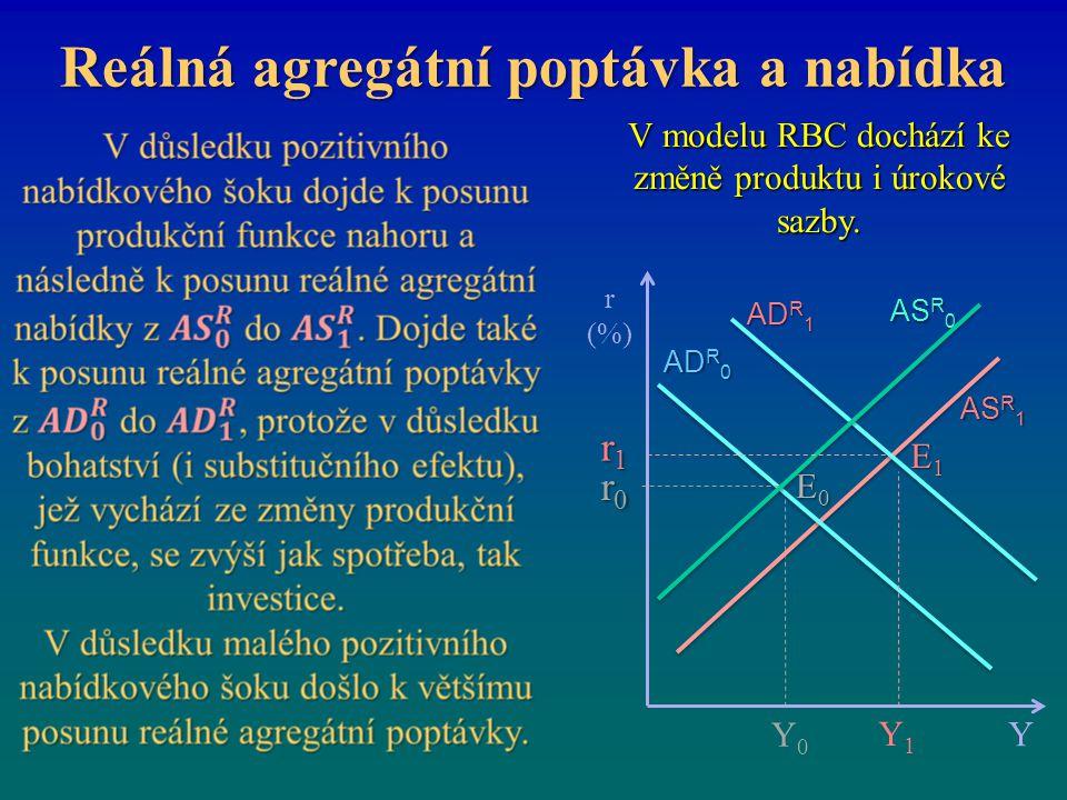 Reálná agregátní poptávka a nabídka