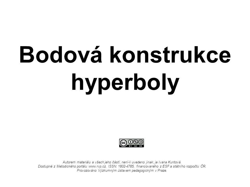 Bodová konstrukce hyperboly