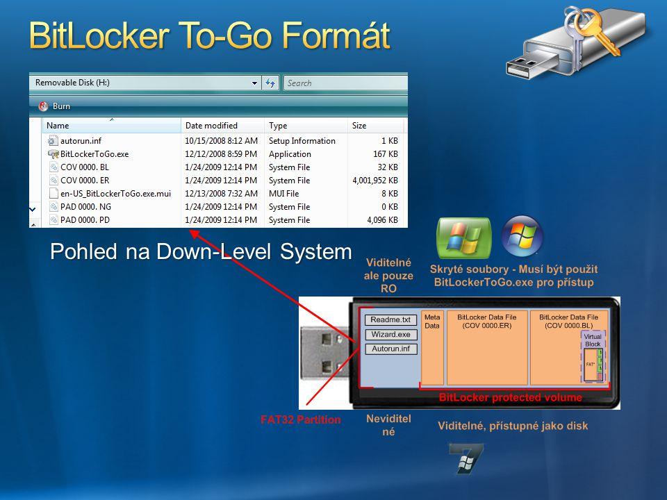 BitLocker To-Go Formát