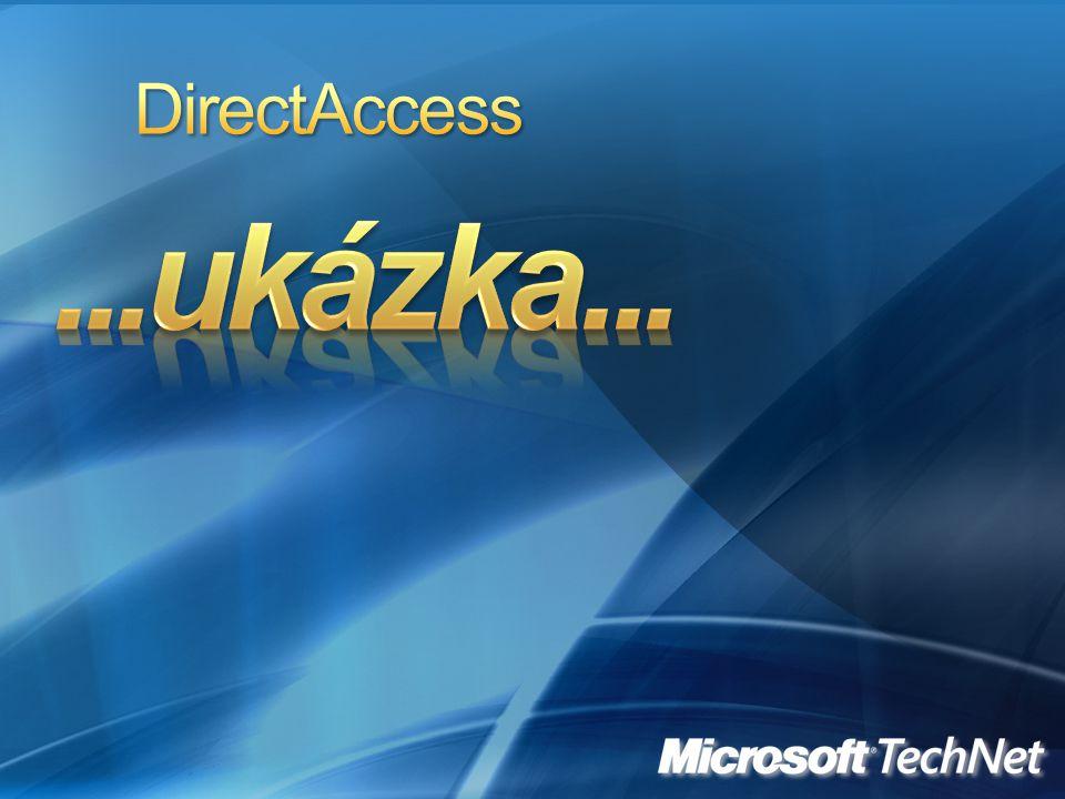 DirectAccess ...ukázka...