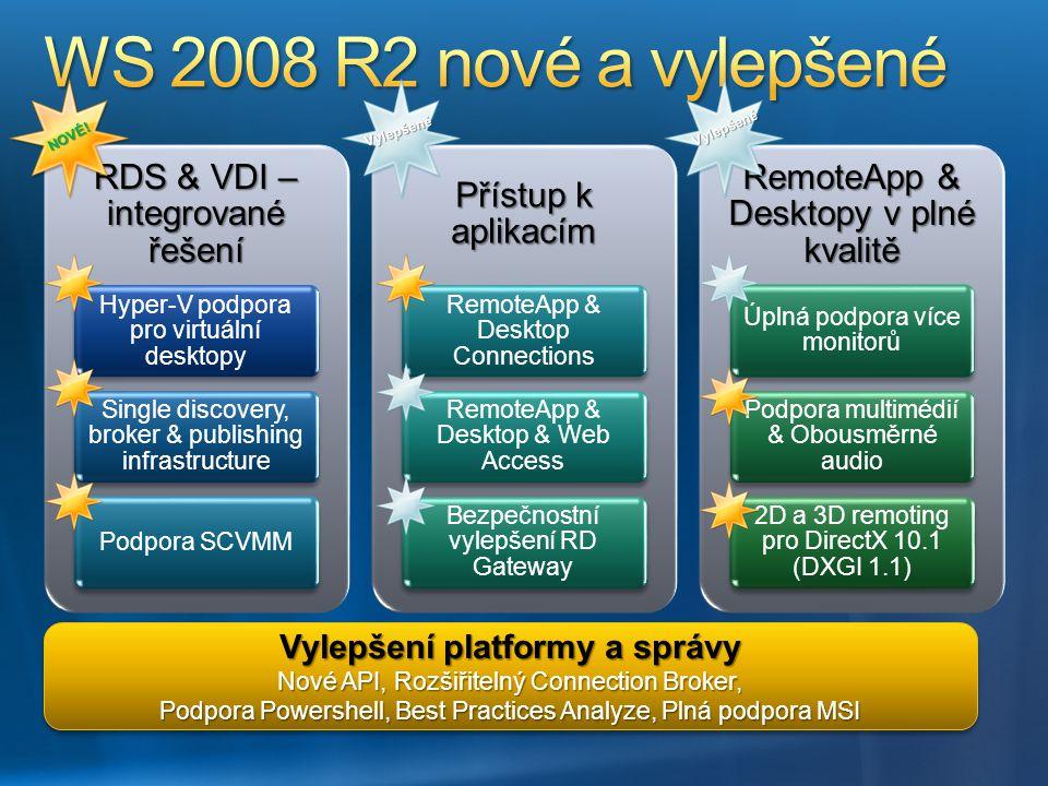 Vylepšení platformy a správy