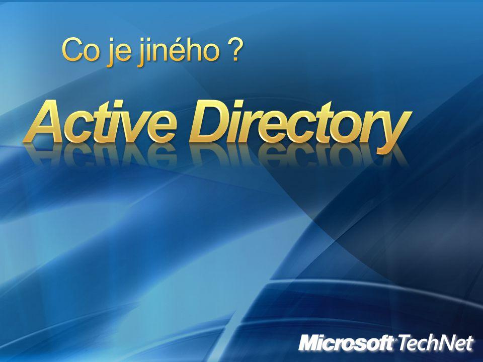 Co je jiného Active Directory