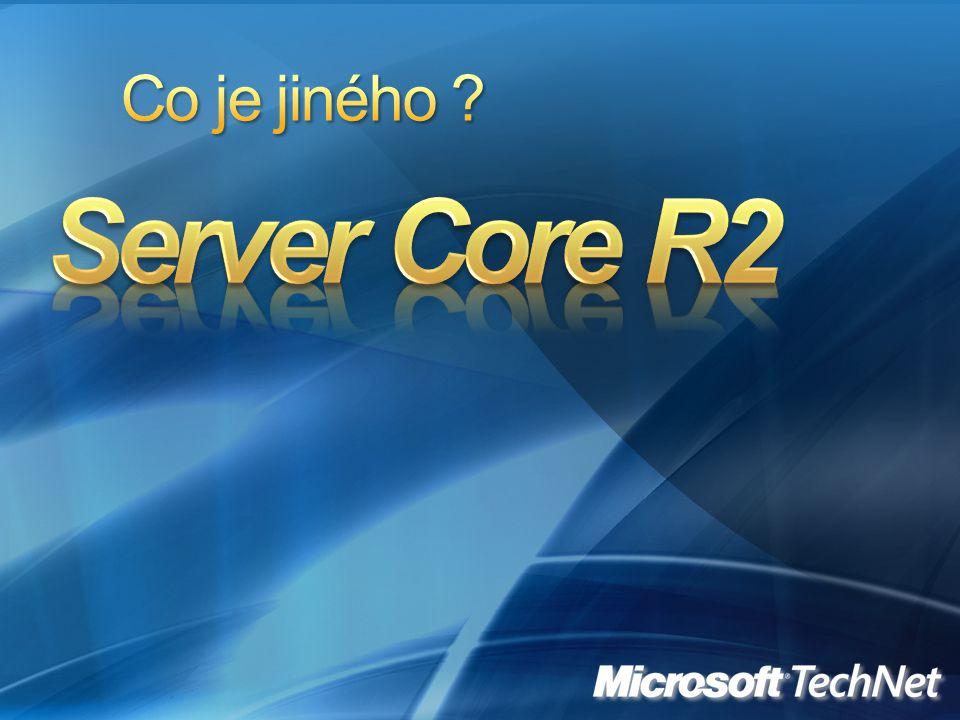 Co je jiného Server Core R2