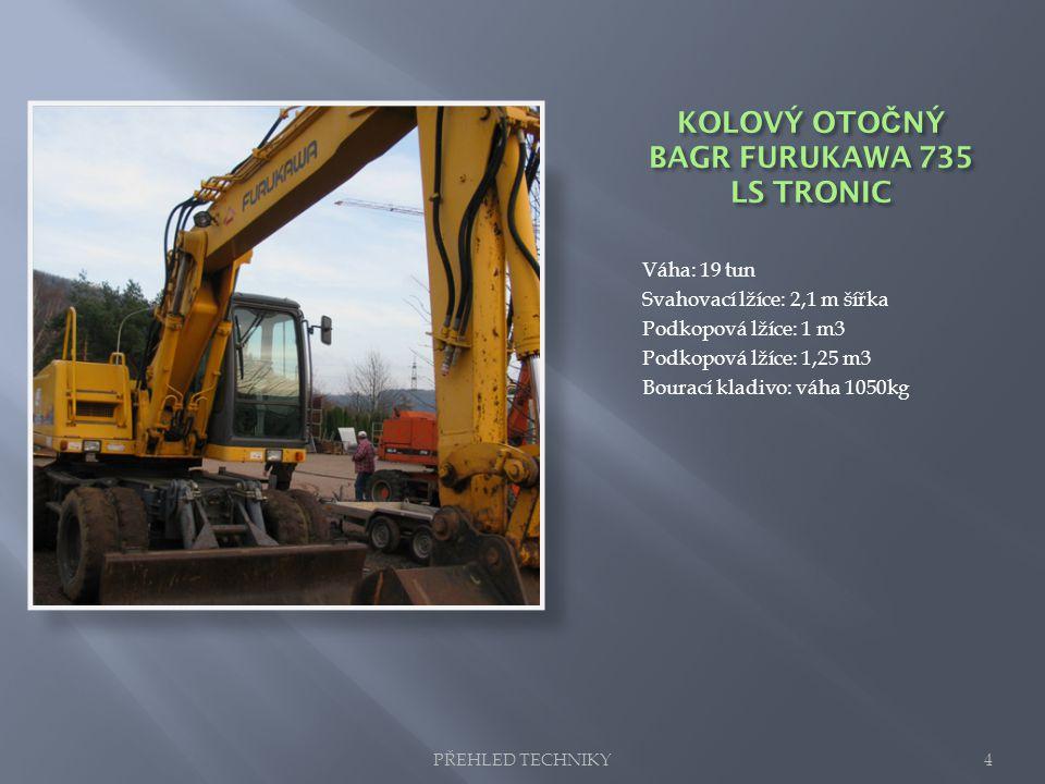 KOLOVÝ OTOČNÝ BAGR FURUKAWA 735 LS TRONIC