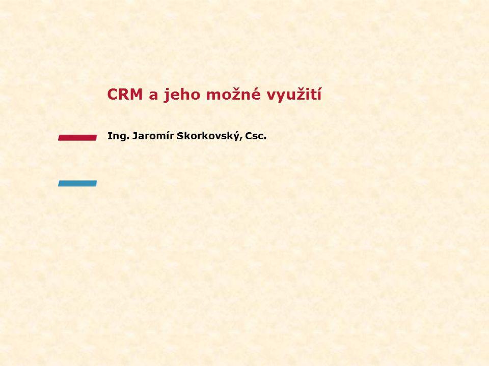 CRM a jeho možné využití