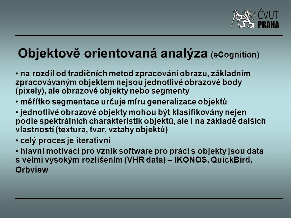 Objektově orientovaná analýza (eCognition)