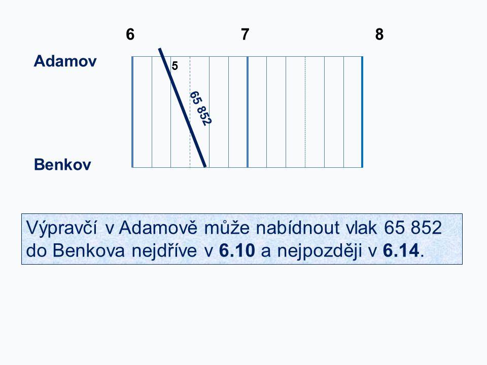6 7. 8. Adamov. 5. 65 852. Benkov.