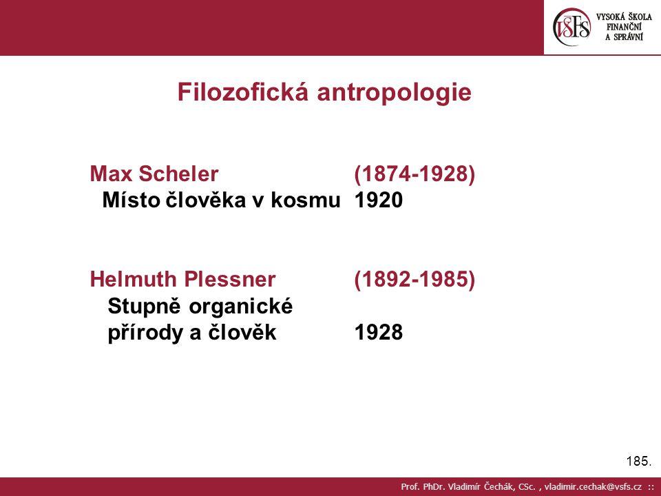 Filozofická antropologie