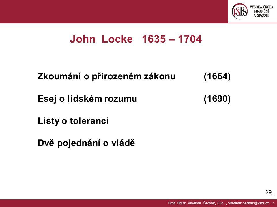 Zkoumání o přirozeném zákonu (1664)