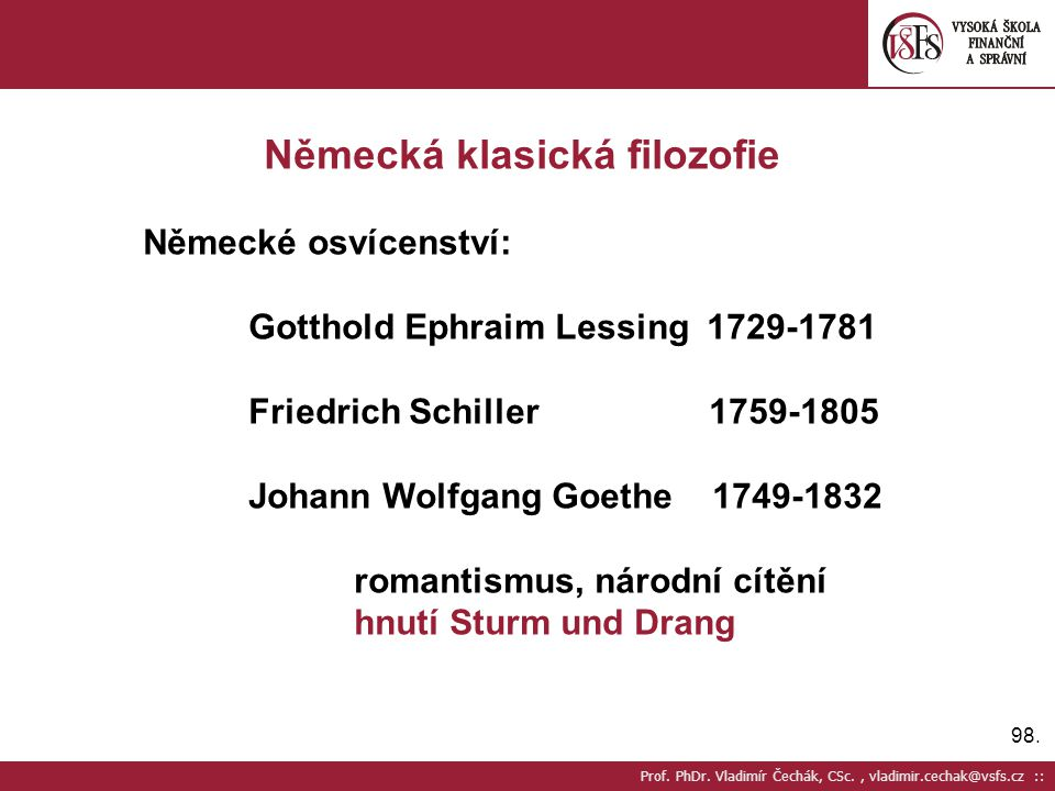 Německá klasická filozofie