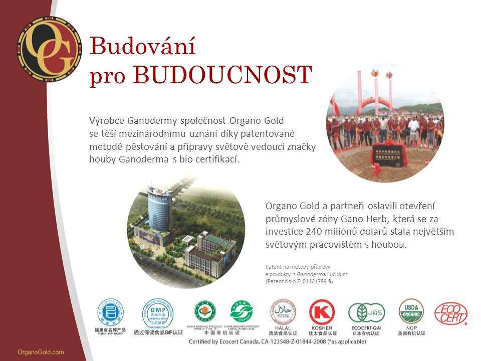 Budování pro BUDOUCNOST Výrobce Ganodermy společnost Organo Gold