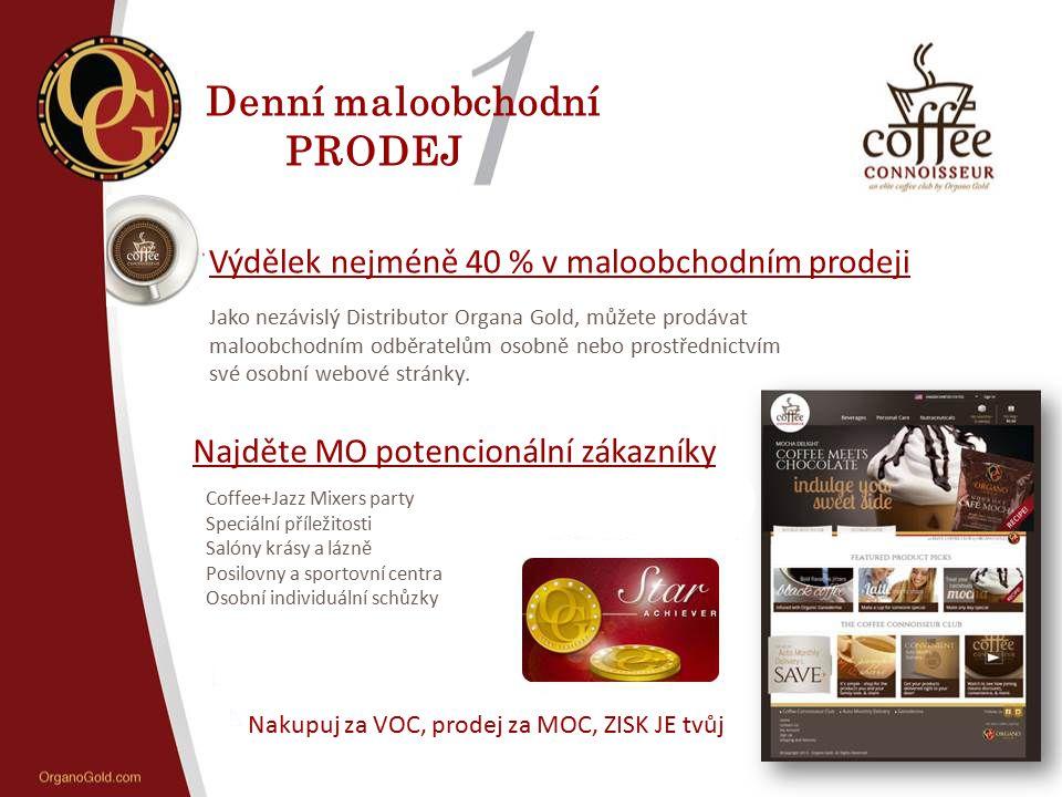 Nakupuj za VOC, prodej za MOC, ZISK JE tvůj