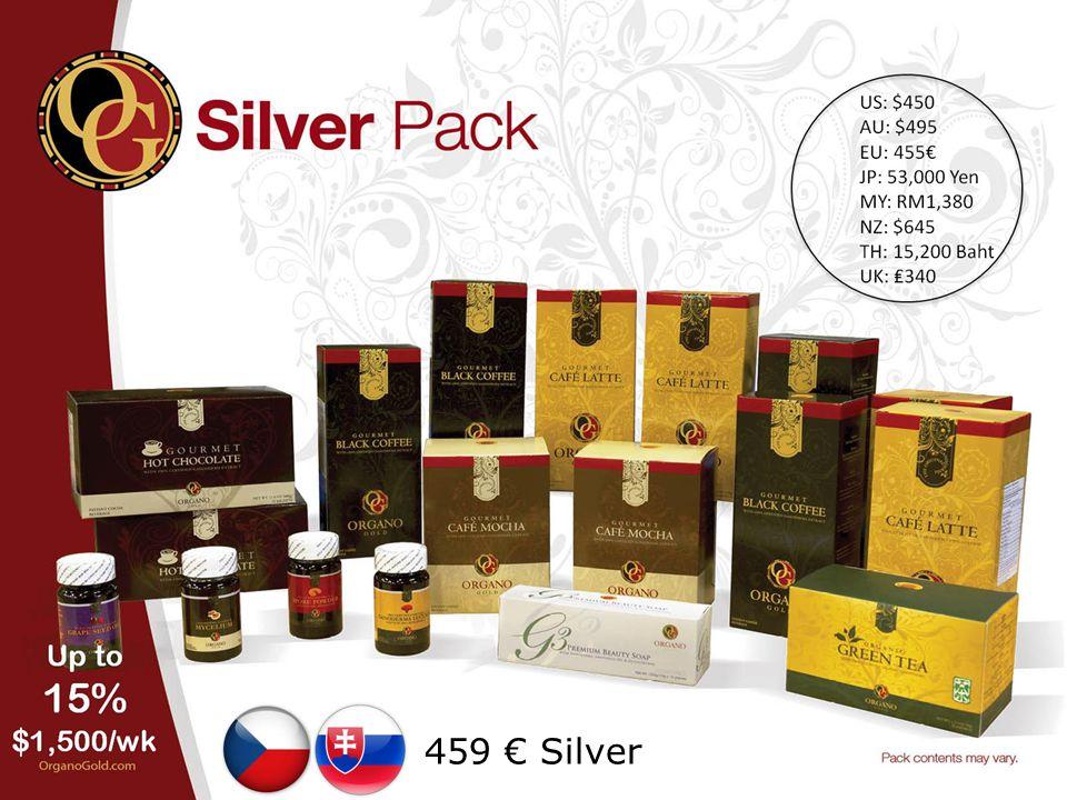 459 € Silver