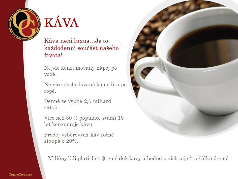KÁVA Káva není luxus…Je to každodenní součást našeho života!
