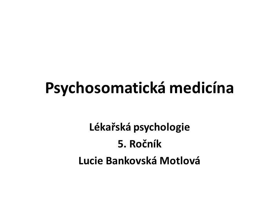 Psychosomatická medicína